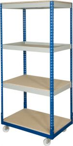 Mobile Trolley Shelving