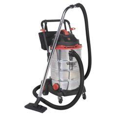 Vacuum Cleaner Wet & Dry 60ltr 1600W/230V