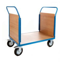 Platform Truck with 2 Veneer Ends - L1000 x W700mm
