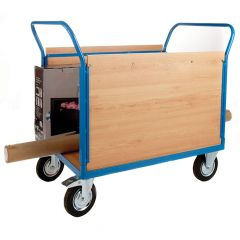 Platform Truck with 2 Veneer Sides - L1000 x W700mm