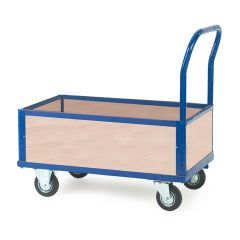 Platform Truck with 4 Plywood Half Height Sides