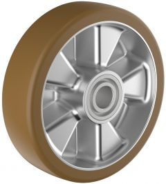 Polyurethane Tyre with Aluminium Centre