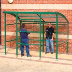 Premier Smoking Shelters - Perspex Sides