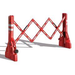 PVC Extending Safety Barrier