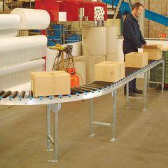 PVC Roller Gravity Conveyor