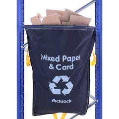Racksacks Blue Recycling Waste Sacks - Mixed Paper & Card