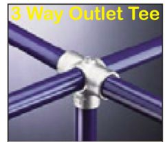 3 Way Outlet Tee
