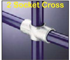 2 Socket Cross