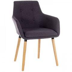 Reception Chair - Graphite