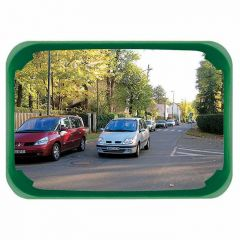 Rectangular Mirror - Green