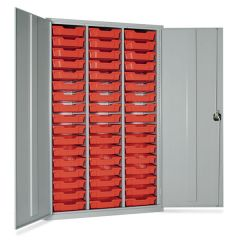 51 Tray High Capacity Storage Cupboards