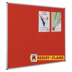 Resist-a-Flame® Class 0 Aluminium Framed Notice Boards