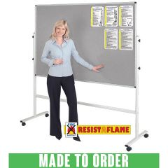 Resist-a-Flame® Mobile Noticeboards - Made to Order