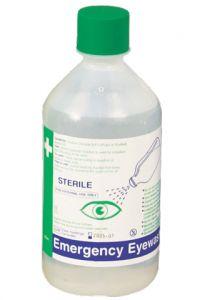 500ml Single Bottle Eyewash - (Refill)