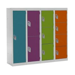 Spectrum School Lockers - 1235mm High