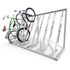 Semi-Vertical Cycle Racks