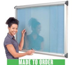 Shield  Showcases with Toughened Glass Sliding Doors - Made to Order