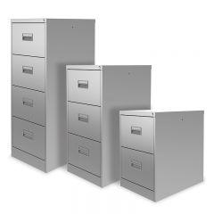 Silverline Midi Filing Cabinets
