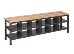 Single Depth Bench with Shoe Storage