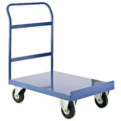Single Handle Platform Trucks - blue
