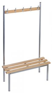 Single Sided Benches - Silver