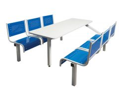 Spectrum Canteen Furniture 6 Seater - Fully Welded