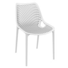 White Spring Side Chairs