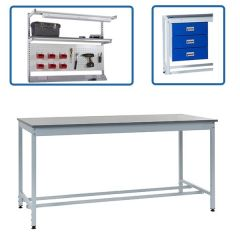 Square Tube Height Settable Workbench