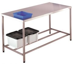 Stainless Steel Worktable only