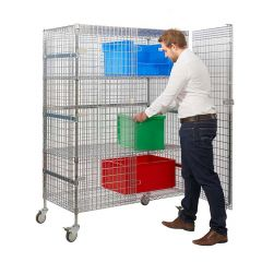 Wire Mesh Security Trolley