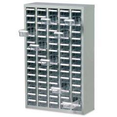75 Drawer Cabinet - H 937 x W 586 x D 222mm - Drawer Capacity: 3.3kg