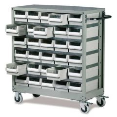 Small Part Drawer Cabinet Trolley