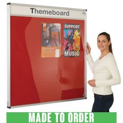 Themeboard Tamperproof Notice Boards are made to order