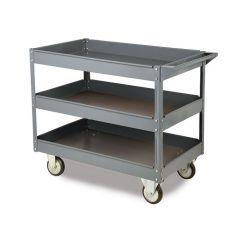 Toptruck Steel 3 Shelf Trolley - 250kg