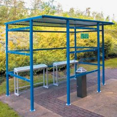 Traditional Smoking Shelters - 3 Perspex Sizes