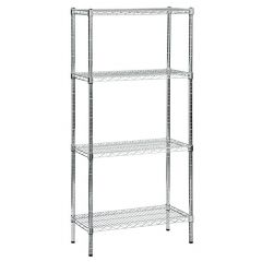 TUFF Perma Plus Chrome Wire Shelving