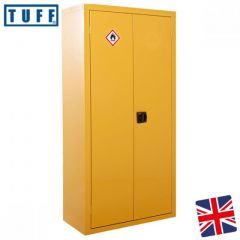 TUFF Hazardous Cupboard 1800 x 900 x 460mm - Yellow
