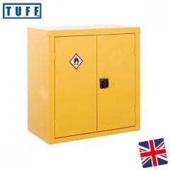 TUFF Hazardous Cupboard 900 x 900 x 460mm - Yellow