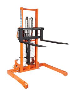 TUFF Manual Straddle Stackers Front