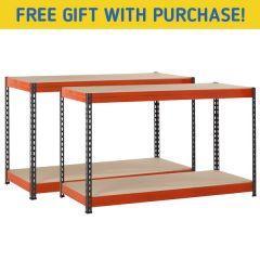 TUFF 300kg Workbench Bundle & Free Gift - W1500mm