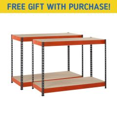 TUFF 300kg Workbench Bundle & Free Gift
