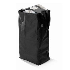 Folding Laundry Bag - Grey