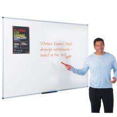 Write-On® Vitreous Enamel Steel Whiteboards