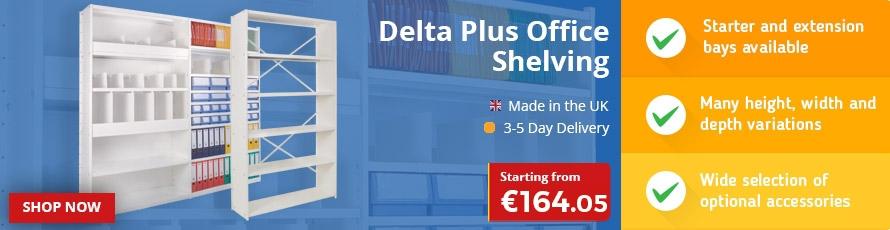 Delta Plus Office Shelving