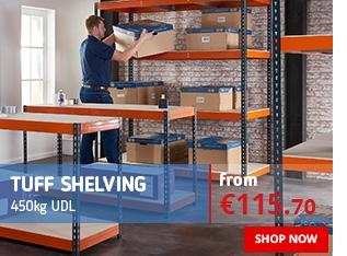 TUFF Shelving - 450kg UDL